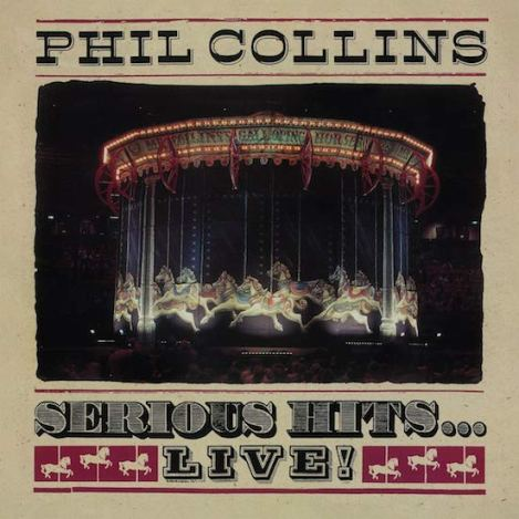 PHIL COLLINS / Serious hits live (remastered) (Warner/Atlantic)